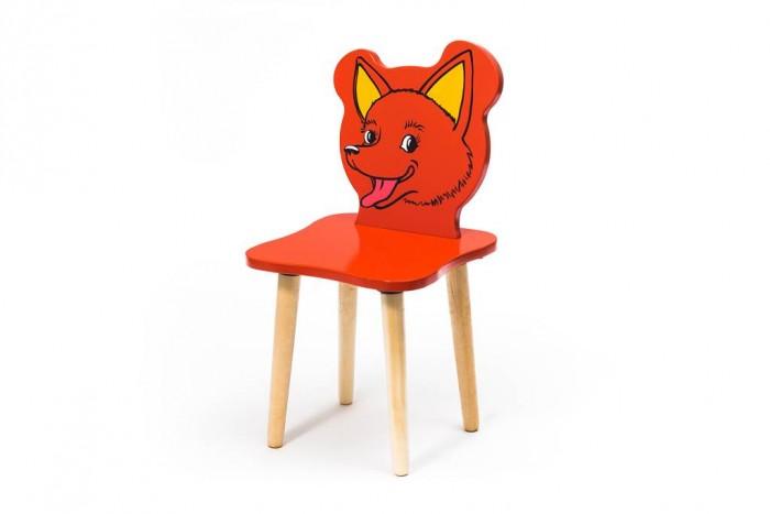 Детские столы и стулья Polli Tolli Детский стульчик Джери Лисёнок