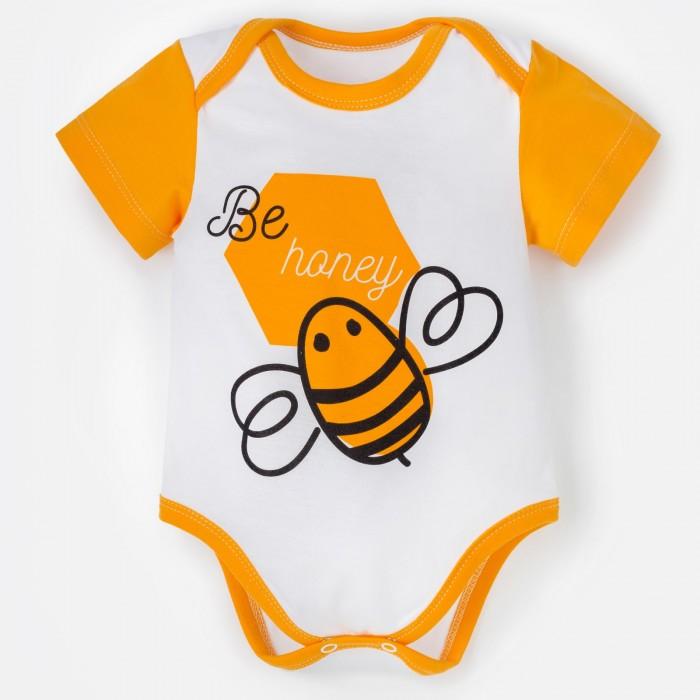 Боди, песочники, комбинезоны Крошка Я Боди Love honey. Bee