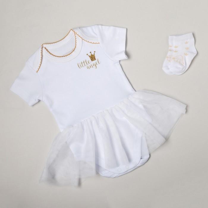 Крошка Я Набор для крещения Little Angel Gold