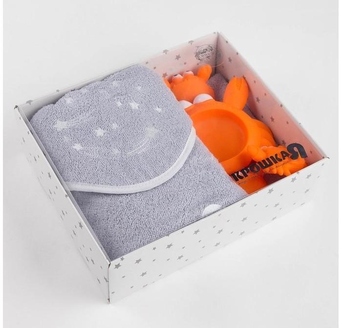 Полотенца, Крошка Я Набор полотенце Cozy spase с игрушками  - купить со скидкой