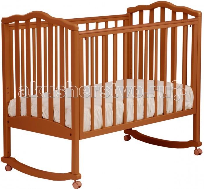 Детские кроватки Кубаньлесстрой АБ 19.0 Жасмин качалка без ящика детские кроватки кубаньлесстрой аб 17 0 лилия люкс качалка без ящика