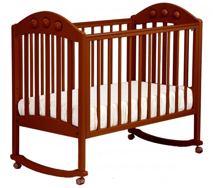 Купить Детские кроватки, Детская кроватка Кубаньлесстрой АБ 24.0 Орхидея качалка без ящика