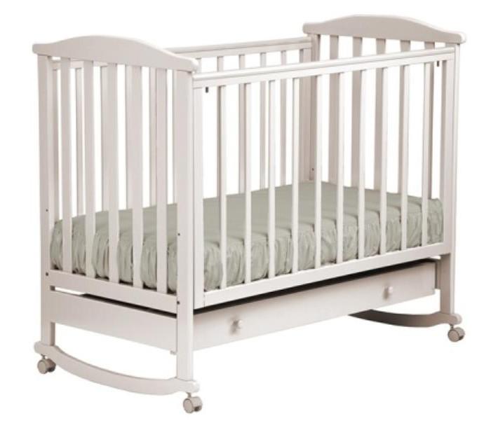 Купить Детские кроватки, Детская кроватка Кубаньлесстрой АБ 15.1 Лютик качалка с ящиком