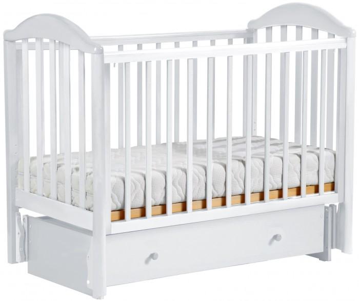 Детская кроватка Кубаньлесстрой АБ 17 Лилия маятник универсальный