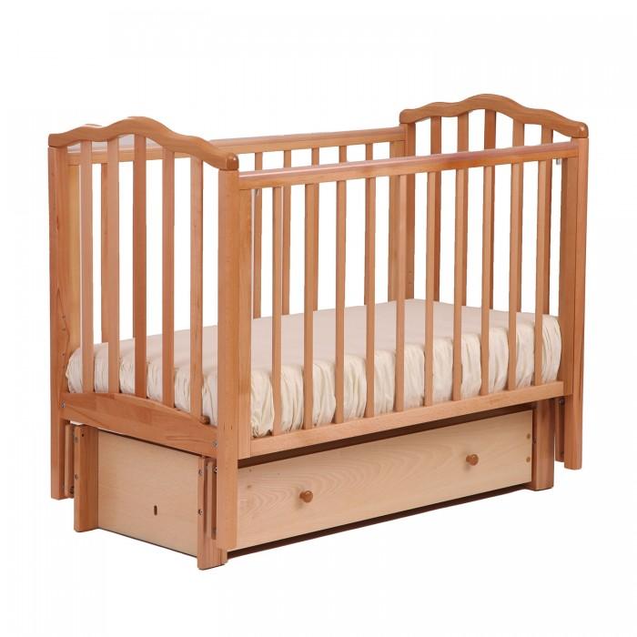 Купить Детские кроватки, Детская кроватка Кубаньлесстрой АБ 19 Жасмин универсальный маятник