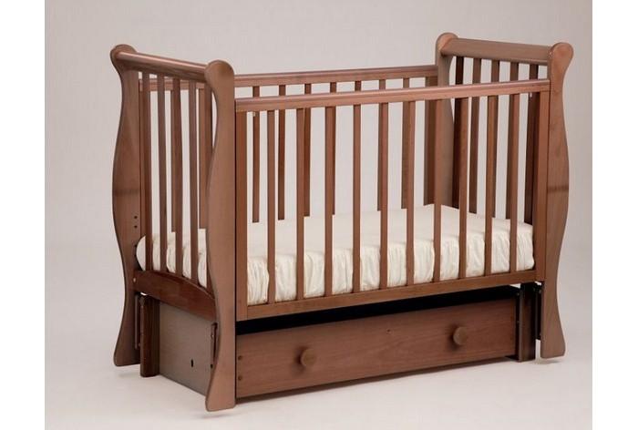 Купить Детские кроватки, Детская кроватка Кубаньлесстрой АБ 21 Лаванда маятник универсальный