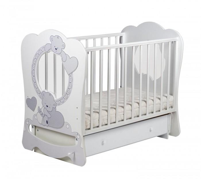 Детская кроватка Кубаньлесстрой Baby Sleep 7 БИ 133.2 маятник поперечный