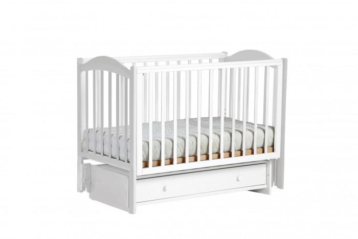 Детская мебель , Детские кроватки Кубаньлесстрой БИ 38 Кубаночка-2 маятник универсальный арт: 528971 -  Детские кроватки
