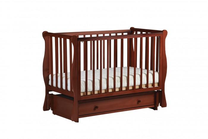 Детская мебель , Детские кроватки Кубаньлесстрой БИ 40 Кубаночка-4 маятник универсальный арт: 529011 -  Детские кроватки