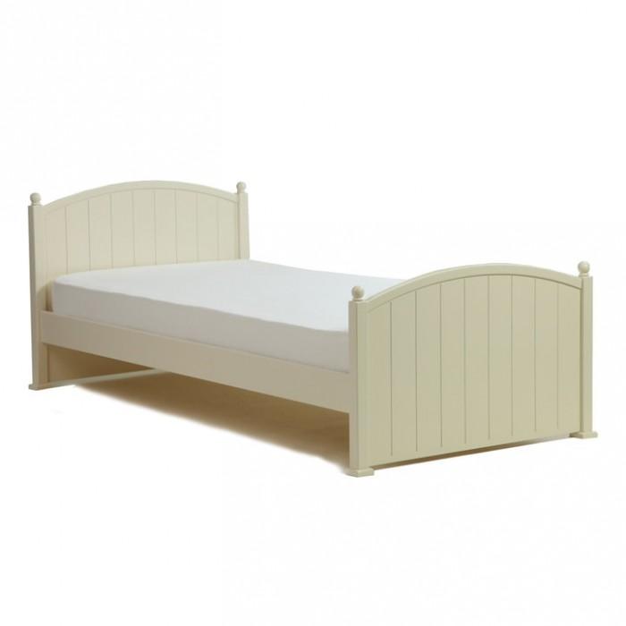 Подростковая кровать Кубаньлесстрой ОлимпияОлимпияДетская кроватка Кубаньлесстрой подростковая Олимпия БИ82 со спальным местом 160 х 80 – идеальный вариант кроватки для детей от 3 до 14 лет. Малыши быстро растут и хотят всё как у взрослых. «Олимпия» даст Вашему малышу почувствовать себя самостоятельным, ведь она – уменьшенная взрослая кровать.    Особенности: Для активных ночью детей мы предусмотрели два ограничительных бортика, которые можно приобрести дополнительно. Бортики крепятся у изголовья кроватки с двух сторон. Возможность случайного падения во сне сведена к минимуму.  У кровати правильное ортопедическое ложе с изогнутыми рейками. В период формирования позвоночника ребенка -это очень важно. Благодаря реечному дну происходит постоянная вентиляция. Обращаем Ваше внимание – реечное дно изготовлено из массива, что является элементом практичности и безопасности!  Дизайн кроватки очарователен и подойдет практически в любой интерьер: гнутые спинки с круглыми наконечниками-вишенками и резьба на спинках, придают ей шарм.   Кровать изготовлена из экологически чистых материалов. Мы не используем при производстве кроватей вредные для здоровья материалы, такие как фанера и ДСП. Только массив бука, высококачественный и безопасный материал МДФ, но только в тех местах, где это необходимо для придания наибольшей прочности: ведь не всегда в условиях квартиры удаётся контролировать  влажность воздуха и температуру, которая необходима для массива.   Подростковая кровать «Олимпия» - прекрасный выбор для вашего ребенка!<br>