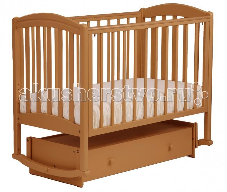 Купить Детские кроватки, Детская кроватка Кубаньлесстрой БИ 09.2 Василек маятник поперечный