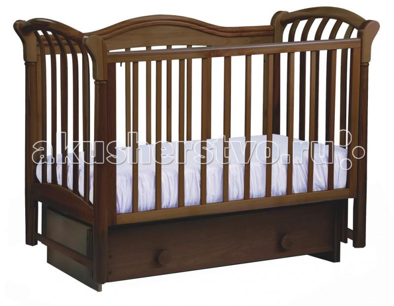 Купить Детские кроватки, Детская кроватка Кубаньлесстрой БИ 10.2 Азалия маятник поперечный