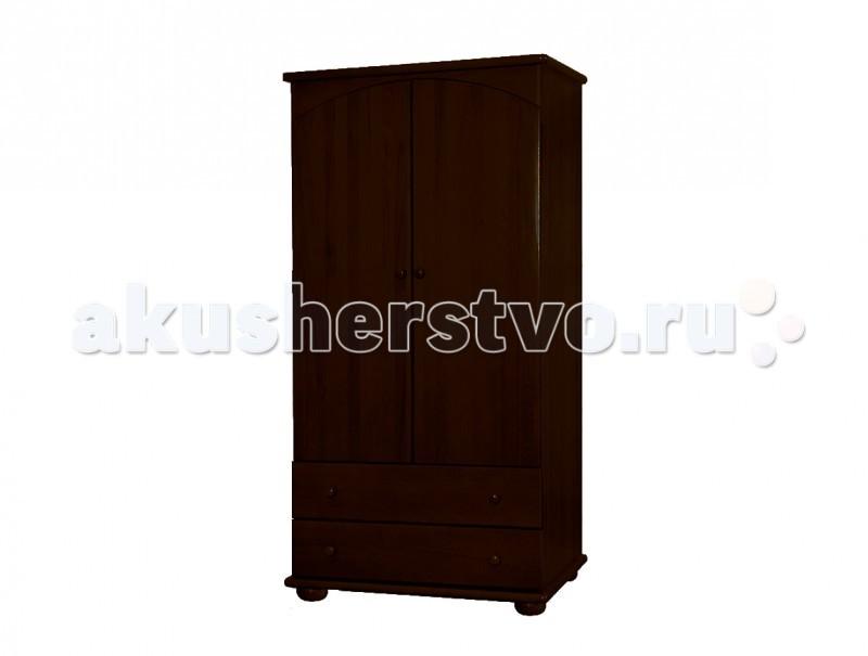 Детская мебель , Шкафы Кубаньлесстрой АБ 35.0 для одежды арт: 6405 -  Шкафы