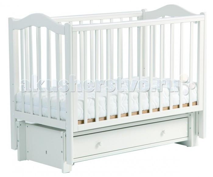 Детская кроватка Кубаньлесстрой БИ 37.3 Кубаночка-1 маятник продольный