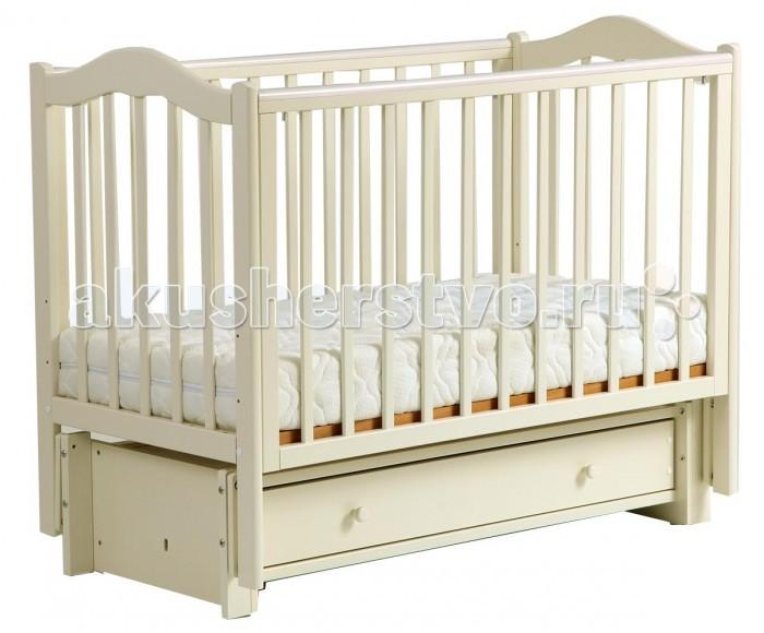 Детские кроватки Кубаньлесстрой БИ 37.3 Кубаночка-1 маятник продольный детская кроватка kito amore с поперечным маятником