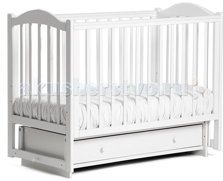Детские кроватки Кубаньлесстрой БИ 38.2 Кубаночка-2 маятник поперечный