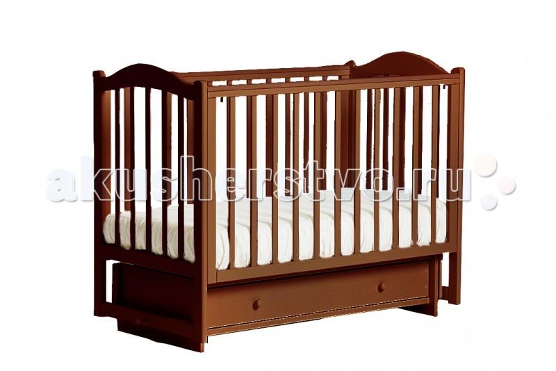 Детская кроватка Кубаньлесстрой БИ 38.2 Кубаночка-2 маятник поперечный