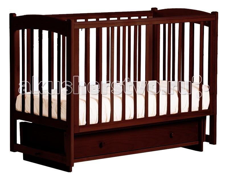 Детские кроватки Кубаньлесстрой БИ 39.2 Кубаночка-3 маятник поперечный