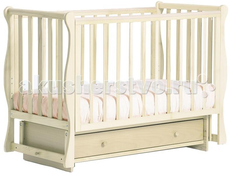 Детские кроватки Кубаньлесстрой БИ 40.2 Кубаночка-4 маятник поперечный детская кроватка kito amore с поперечным маятником