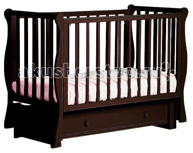 Детские кроватки Кубаньлесстрой БИ 40.3 Кубаночка-4 маятник продольный детская кроватка kito amore с поперечным маятником
