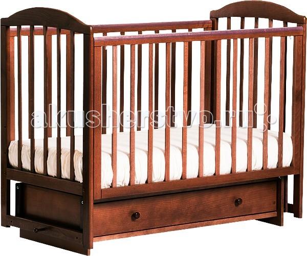 Купить Детские кроватки, Детская кроватка Кубаньлесстрой БИ 41.2 Кубаночка-5 маятник поперечный