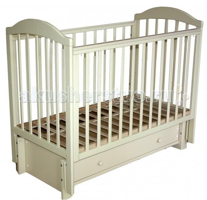 Детские кроватки Кубаньлесстрой БИ 41.3 Кубаночка-5 маятник продольный детские кроватки антел каролина 5 маятник продольный