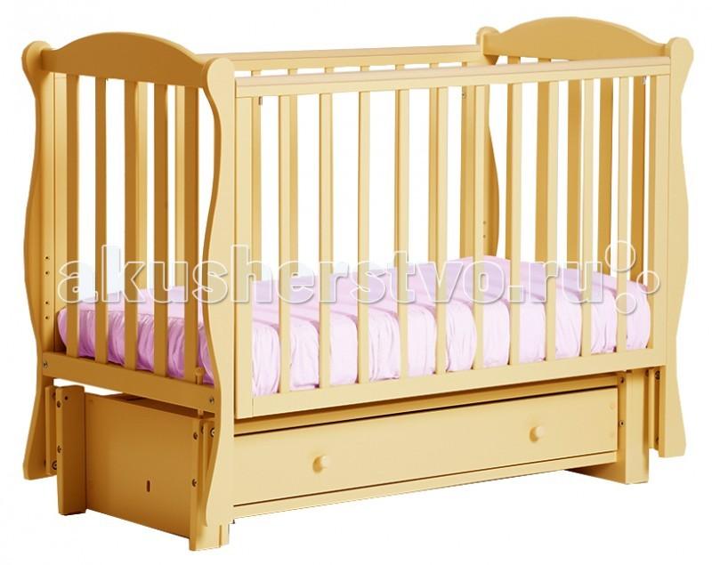 Детские кроватки Кубаньлесстрой БИ 42.3 Кубаночка-6 маятник продольный