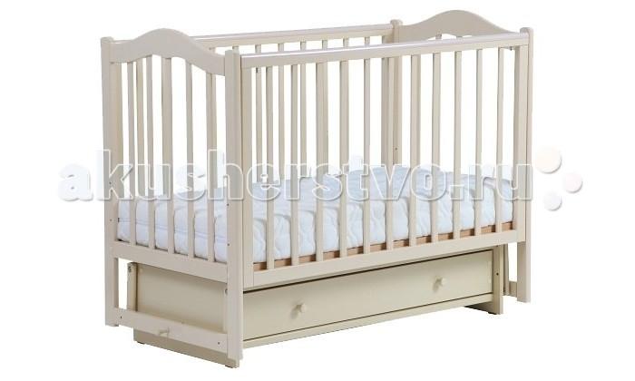 Детские кроватки Кубаньлесстрой БИ 37.2 Кубаночка-1 маятник поперечный детская кроватка kito amore с поперечным маятником