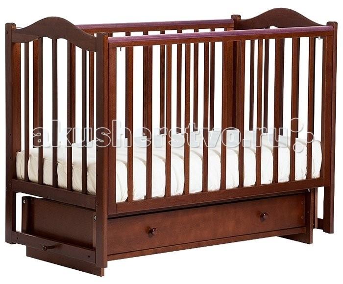 Детские кроватки Кубаньлесстрой БИ 37.2 Кубаночка-1 маятник поперечный