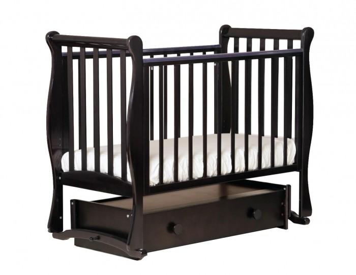 Купить Детские кроватки, Детская кроватка Кубаньлесстрой Лаванда 21.4 маятник универсальный