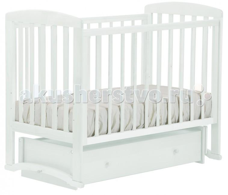 Детские кроватки Кубаньлесстрой Ромашка (маятник универсальный) АБ 16.4, Детские кроватки - артикул:35564