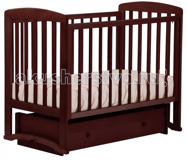 Детские кроватки Кубаньлесстрой Ромашка (маятник универсальный) АБ 16.4 детская кроватка kito amore с поперечным маятником