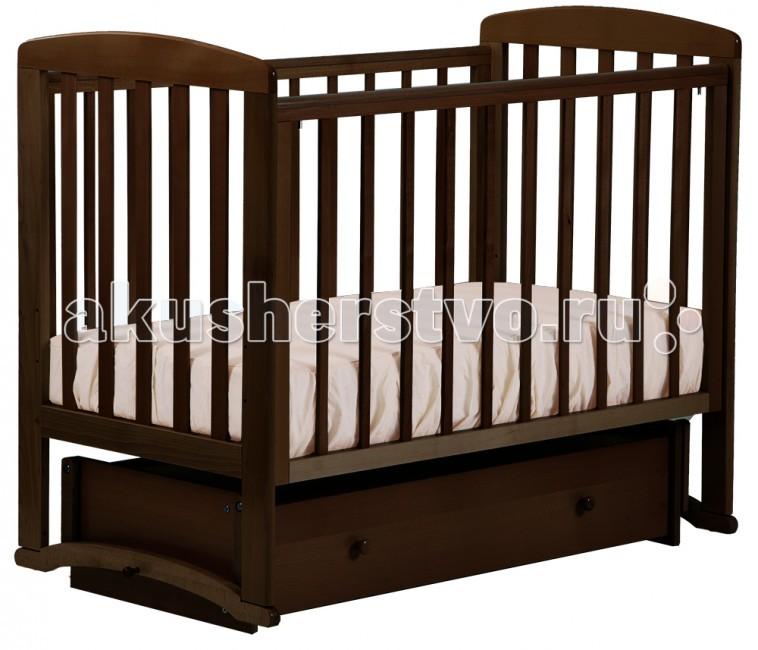 Детские кроватки Кубаньлесстрой Ромашка (маятник универсальный) АБ 16.4 детская кроватка kito amore с продольным маятником
