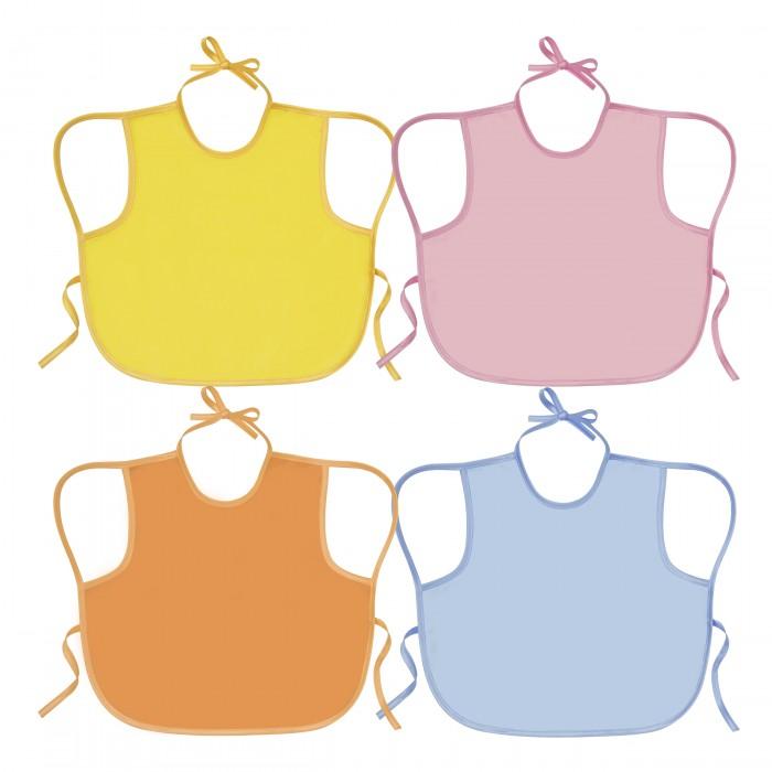 Нагрудники Курносики Слюнявчик детский непромокаемый 32 х 36 см лифчик для кормления большого размера