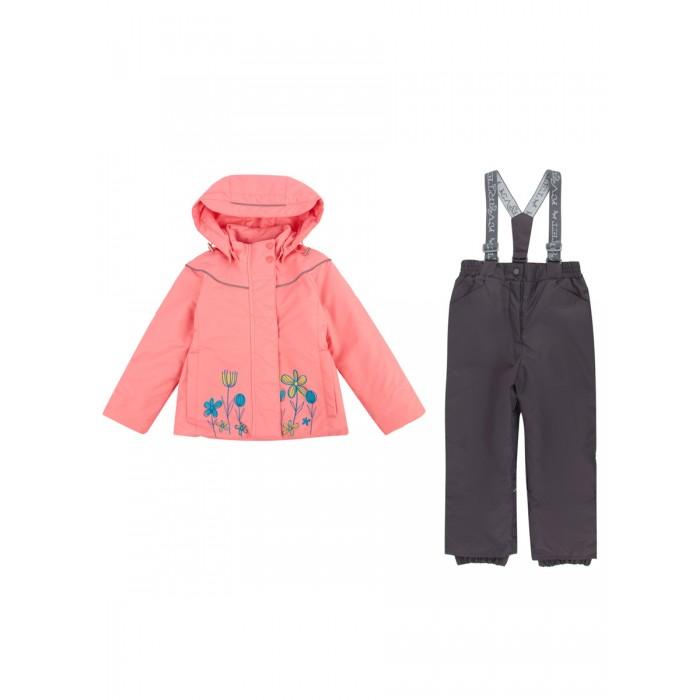 Утеплённые комплекты Kvartet Комплект для девочки (куртка и полукомбинезон) 522-Д