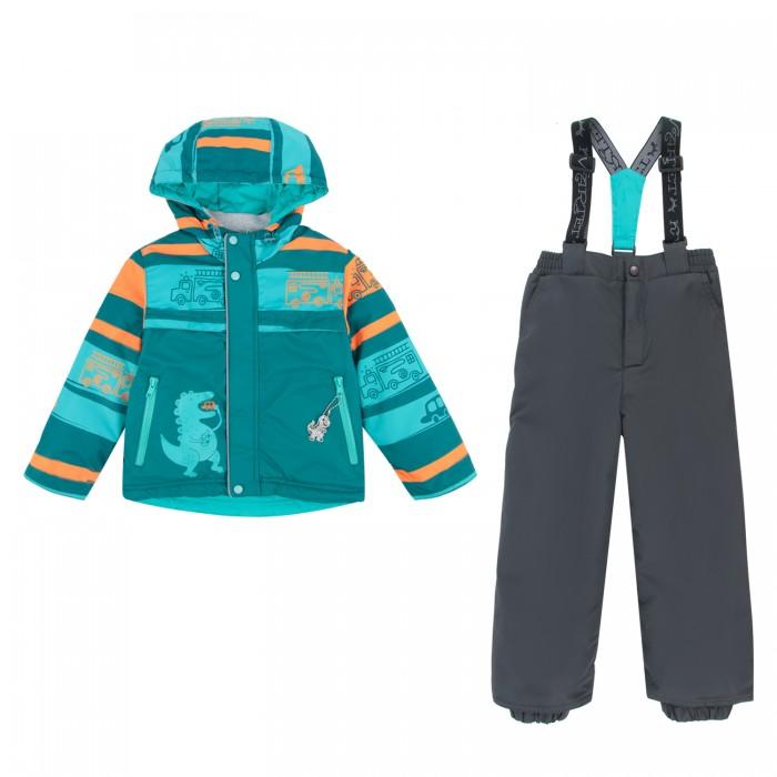 Kvartet Комплект для мальчика (куртка и полукомбинезон) 533-М
