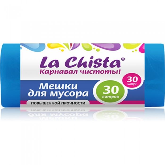 Хозяйственные товары La Chista Мешки для мусора повышенной прочности 30 л 30 шт. мешки для мусора grass 60 л 30 шт 8 мкр черный pp 0021