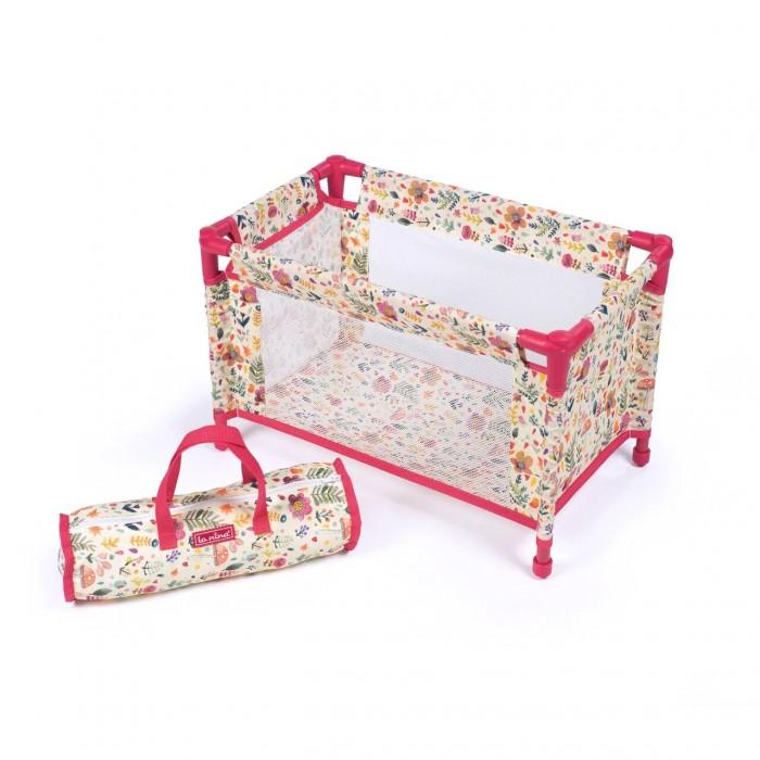 Купить Кроватки для кукол, Кроватка для куклы La Nina манеж 462106
