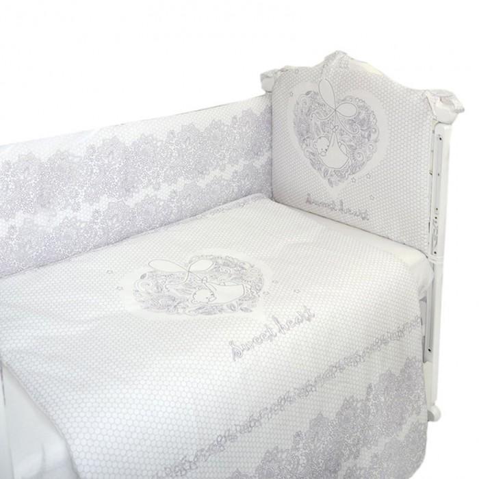 Комплекты в кроватку Labeille Ажурный (4 предмета) комплекты в кроватку bambola мозаика 4 предмета