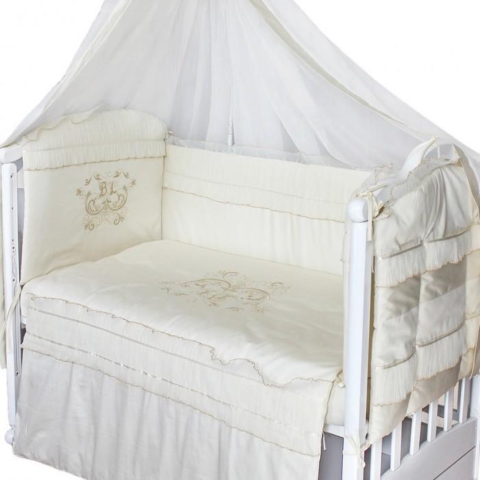 Постельные принадлежности , Комплекты в кроватку Labeille Бэби-люкс (8 предметов) арт: 479996 -  Комплекты в кроватку