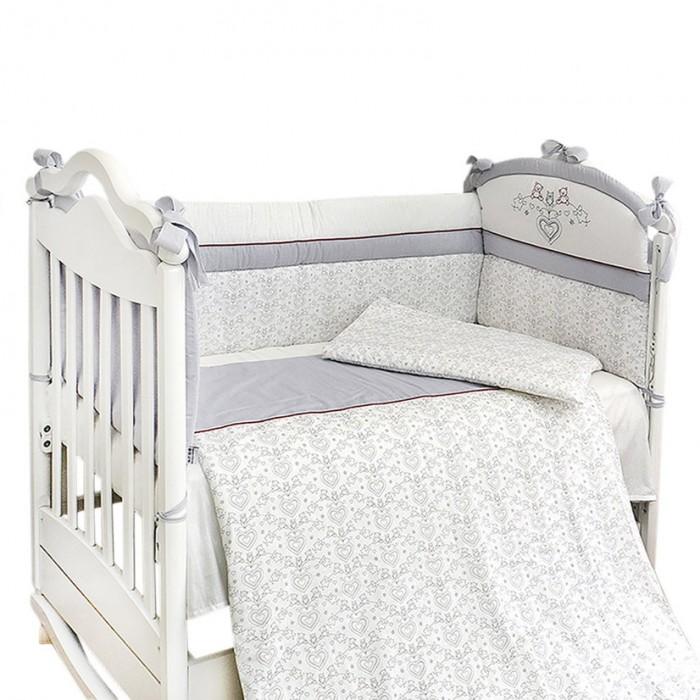 Комплекты в кроватку Labeille Французский (4 предмета) комплекты в кроватку bambola мозаика 4 предмета