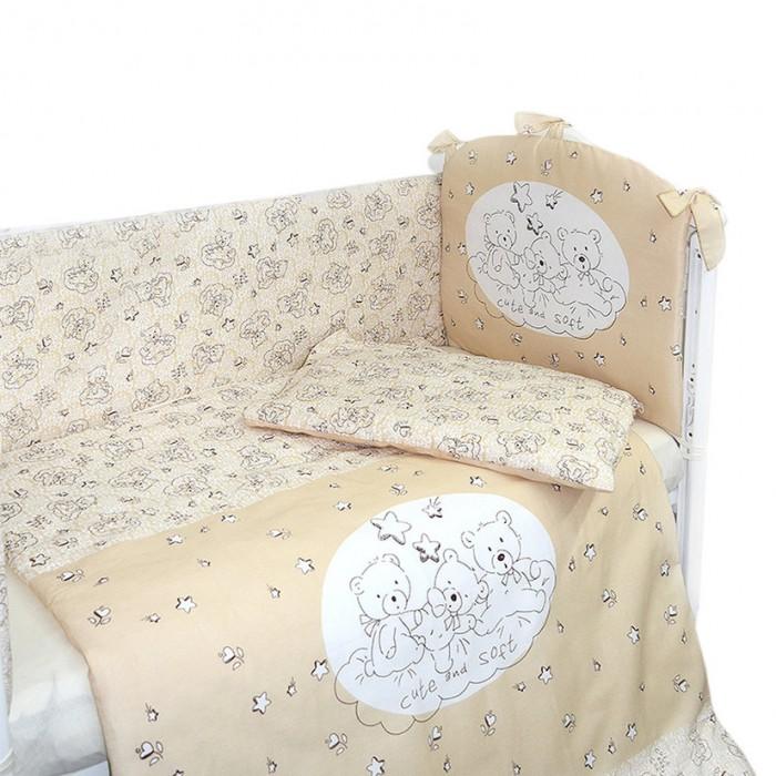 Комплекты в кроватку Labeille Милый и мягкий (4 предмета)