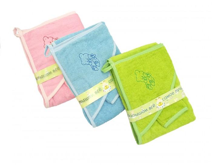 Пеленки Labeille Полотенце с варежкой домашняя одежда labeille банный аттик