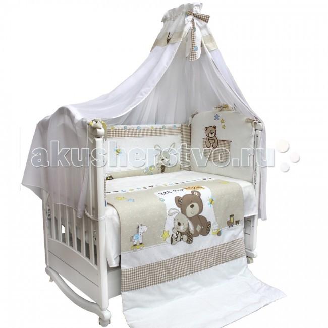 Комплект в кроватку Labeille Друзья (7 предметов)