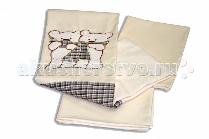 Постельное белье Labeille Шотландцы (3 предмета)