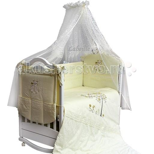 Комплект в кроватку Labeille Совушки (7 предметов)