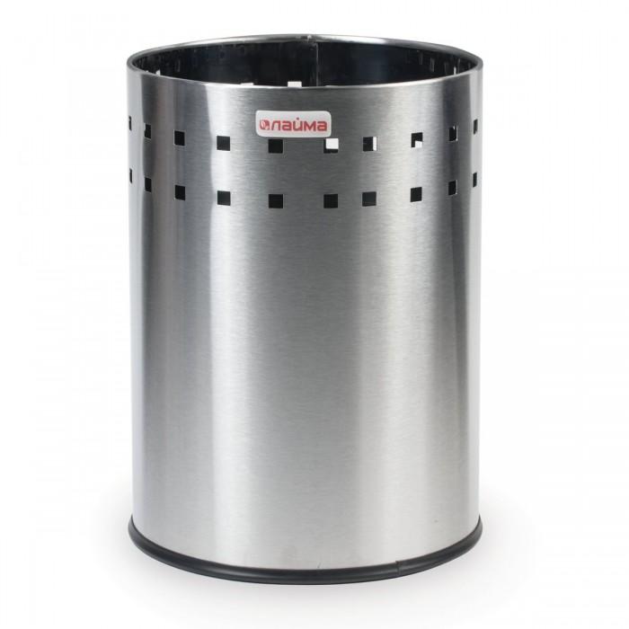 Лайма Корзина металлическая для мусора Bionic 7 л от Лайма