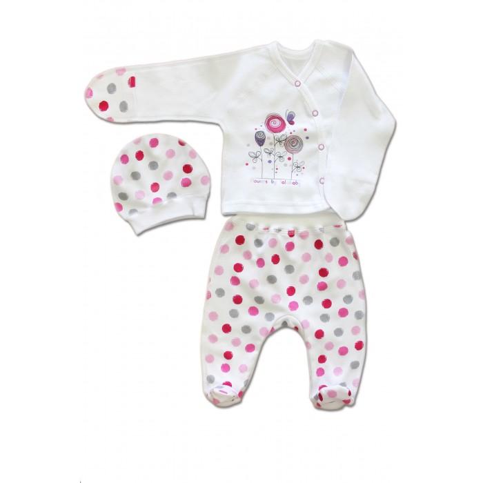 Комплекты детской одежды LalaBaby Комплект для девочки (3 предмета) 911-081 комплекты детской одежды lalababy комплект 911 054