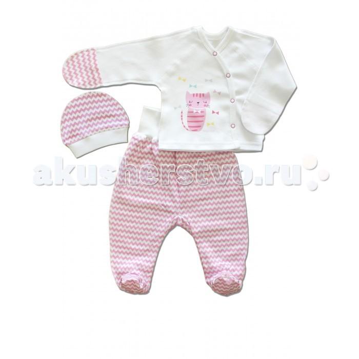 Комплекты детской одежды LalaBaby Комплект для девочки (3 предмета) 911-082