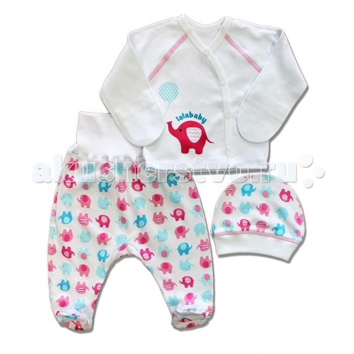Комплекты детской одежды LalaBaby Комплекты на выписку Слоники 821-033